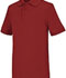 Photograph of Classroom Child's Unisex Youth Unisex Short Sleeve Interlock Polo Red 58912-RED