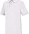 Photograph of Classroom Child's Unisex Youth Unisex Short Sleeve Interlock Polo White 58912-SSWT