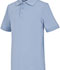 Photograph of Classroom Unisex Adult Unisex Short Sleeve Interlock Polo Blue 58914-LTB