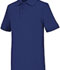 Photograph of Classroom Unisex Adult Unisex Short Sleeve Interlock Polo Blue 58914-ROY