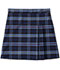 Photograph of Classroom Girl Girls Plus Plaid Double Pleated Scooter Blue 5PC5353A-P41
