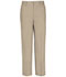 Photograph of Real School Uniforms Boy's REAL SCHOOL Boys Husky Flat Front Pant Khaki 60363-RKAK