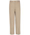 Photograph of Real School Uniforms Men Men's Flat Front Pant Khaki 60364-RKAK