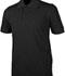 Photograph of Real School Child Unisex Short Sleeve Pique Polo Black 68112-RBLK