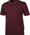Photograph of Real School Child's Unisex Short Sleeve Pique Polo Burgundy 68112-RBUR