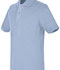 Photograph of Real School Uniforms Child's Unisex REAL SCHOOL Youth Unisex S/S Pique Polo Blue 68322-RLTB