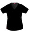 Photograph of Dickies Gen Flex Mock Wrap Top in Black