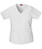 Photograph of Dickies Gen Flex Mock Wrap Top in White