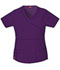 Photograph of Dickies Gen Flex Mock Wrap Top in Eggplant