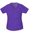 Photograph of Gen Flex Women's Mock Wrap Top Purple 817355-GPWZ