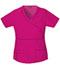 Photograph of Dickies Gen Flex Women's Mock Wrap Top Pink 817355-HPKZ