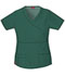 Photograph of Gen Flex Women's Mock Wrap Top Green 817355-HTRZ