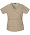 Photograph of Gen Flex Women Mock Wrap Top Khaki 817355-KHIZ