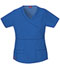 Photograph of Gen Flex Women's Mock Wrap Top Blue 817355-RYLZ