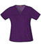 Photograph of Dickies Gen Flex Women\'s V-Neck Top Purple 817455-EGPZ