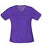 Photograph of Dickies Gen Flex Women's V-Neck Top Purple 817455-GPWZ