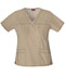 Photograph of Gen Flex Women's V-Neck Top Khaki 817455-KHIZ
