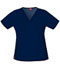 Photograph of Dickies Gen Flex Women\'s V-Neck Top Blue 817455-NVYZ