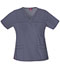 Photograph of Dickies Gen Flex Women\'s V-Neck Top Gray 817455-PEWZ