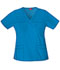 Photograph of Dickies Gen Flex Women's V-Neck Top Blue 817455-RVBZ