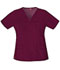 Photograph of Gen Flex Women's V-Neck Top Red 817455-WINZ
