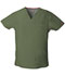 Photograph of Dickies EDS Signature Men's V-Neck Top in Olive