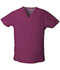 Photograph of Dickies EDS Signature Men's V-Neck Top in Wine