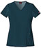 Photograph of Xtreme Stretch Women's V-Neck Top Blue 82851-CRBZ