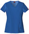 Photograph of Dickies Xtreme Stretch Women's V-Neck Top Blue 82851-RYLZ