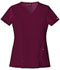 Photograph of Xtreme Stretch Women V-Neck Top Red 82851-WINZ