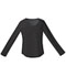 Photograph of Performance System Women Long Sleeve Underscrub Knit Tee Black 82910-BLKZ
