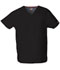 Photograph of Dickies EDS Signature Unisex V-Neck Top in Black