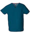 Photograph of Dickies EDS Signature Unisex V-Neck Top in Caribbean Blue