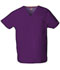 Photograph of Dickies EDS Signature Unisex Tuckable V-Neck Top in Eggplant