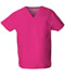 Photograph of Dickies EDS Signature Unisex V-Neck Top in Hot Pink