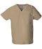 Photograph of EDS Signature Unisex Unisex V-Neck Top Khaki 83706-KHIZ