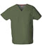 Photograph of EDS Signature Unisex Unisex V-Neck Top Green 83706-OLWZ