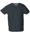 Photograph of Dickies EDS Signature Unisex V-Neck Top in Pewter