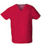 Photograph of Dickies EDS Signature Unisex V-Neck Top in Red