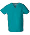 Photograph of Dickies EDS Signature Unisex V-Neck Top in Teal Blue