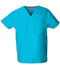 Photograph of EDS Signature Unisex Unisex V-Neck Top Blue 83706-TQWZ