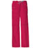 Photograph of Dickies Gen Flex Women\'s Low Rise Drawstring Cargo Pant Red 857455P-CRMZ