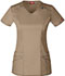 Photograph of Gen Flex Women's V-Neck Top Khaki 85812-KHIZ