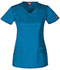 Photograph of Gen Flex Women's V-Neck Top Blue 85812-RVBZ