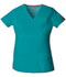 Photograph of EDS Signature Women Mock Wrap Top Blue 85820-TLWZ