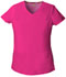 Photograph of EDS Signature Women's V-Neck Top Pink 85906-HPKZ
