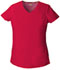 Photograph of Dickies EDS Signature V-Neck Top in Red