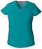 Photograph of Dickies EDS Signature V-Neck Top in Teal Blue