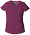 Photograph of EDS Signature Women V-Neck Top Red 85906-WIWZ