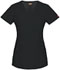 Photograph of Dickies Xtreme Stretch Mock Wrap Top in Black
